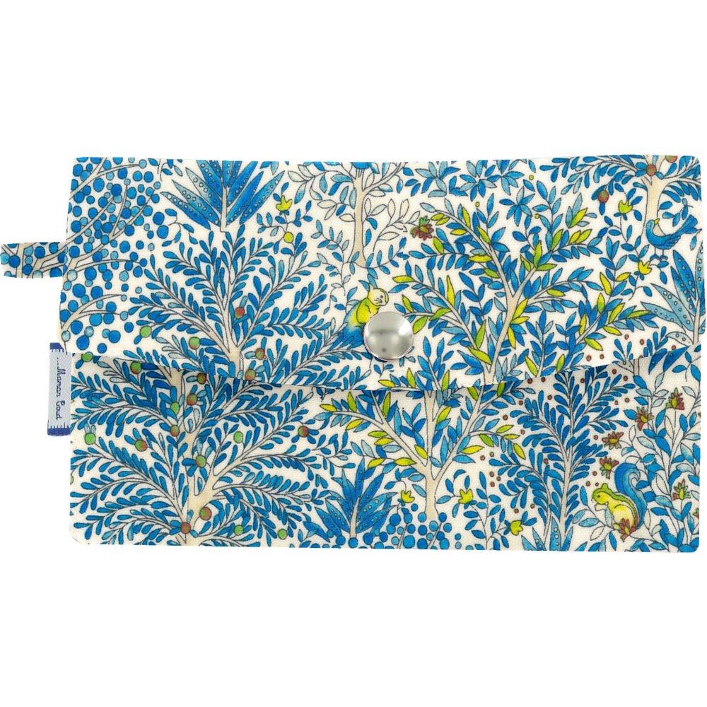 Portefeuille forêt bleue
