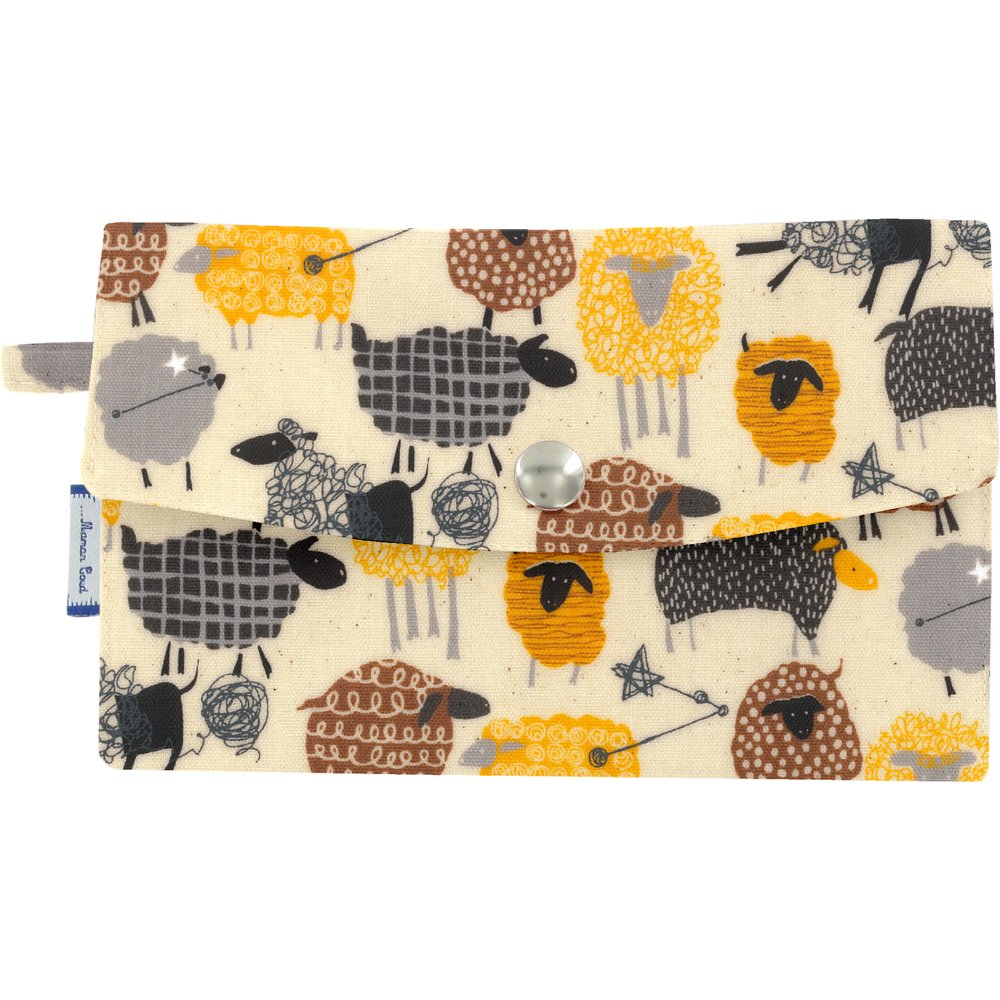 Wallet yellow sheep