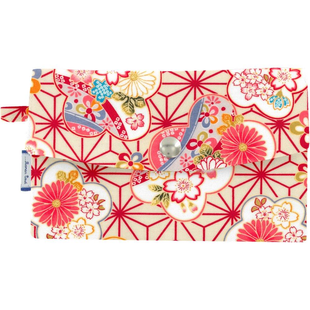 Portefeuille  origamis fleuris