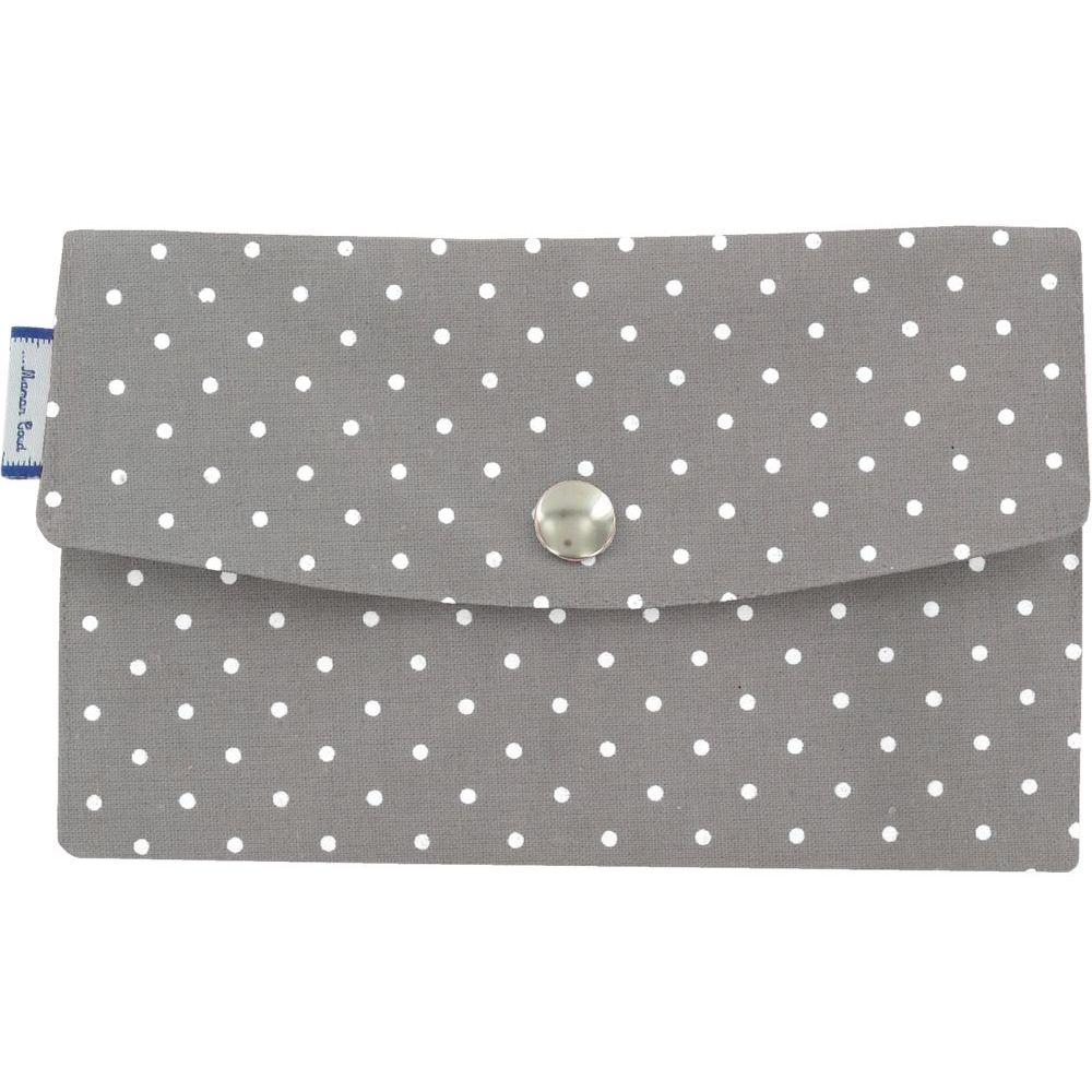 Wallet light grey spots