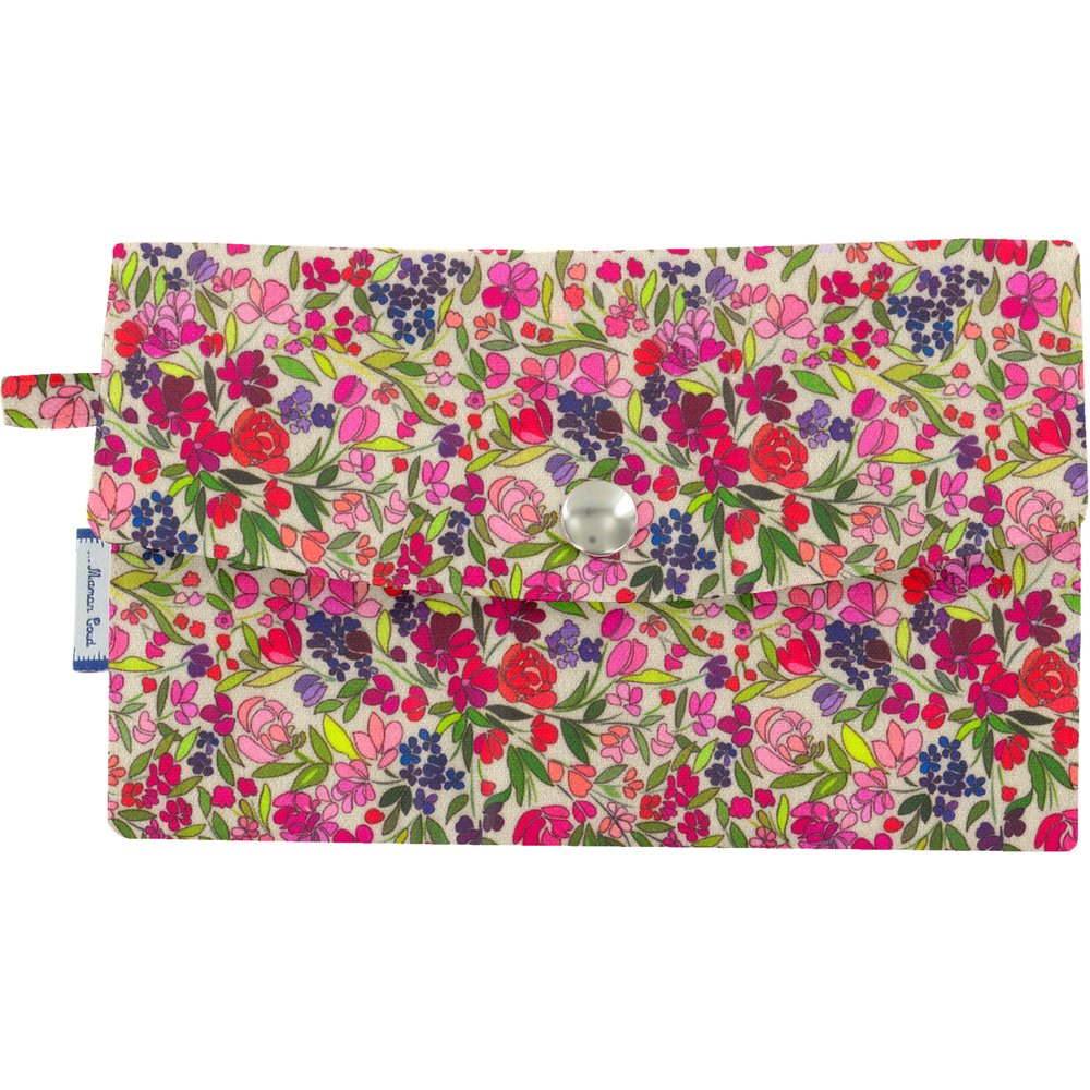 Wallet purple meadow