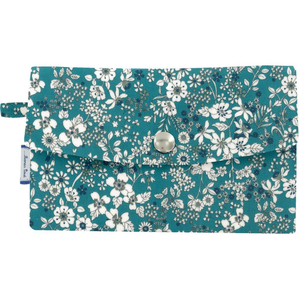 Wallet celadon violette