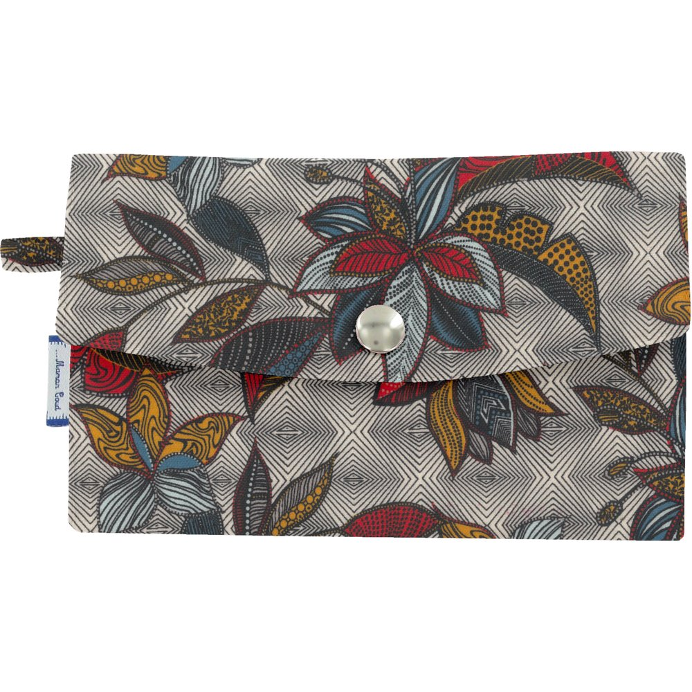 Wallet wax fleuri