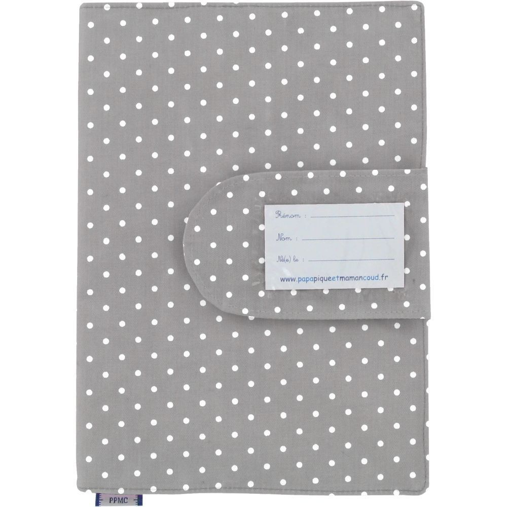 Health book cover light grey spots