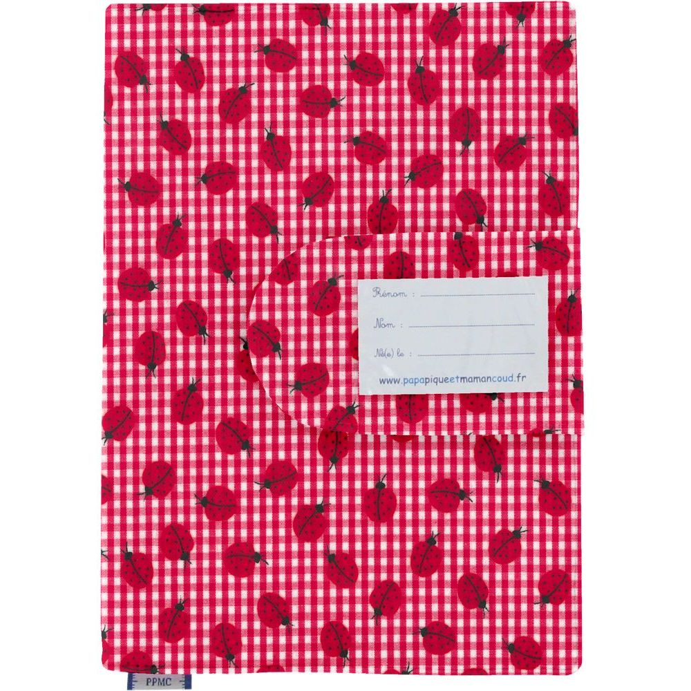 Health book cover ladybird gingham