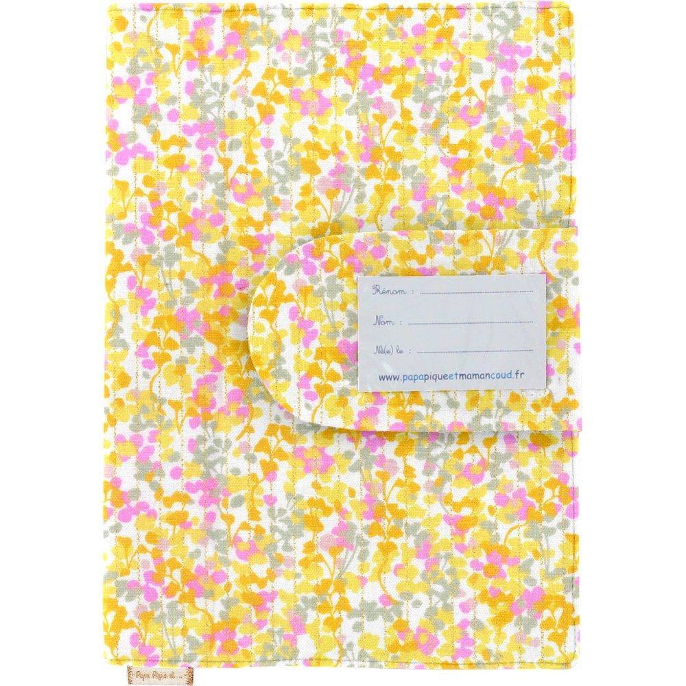 Health book cover mimosa jaune rose