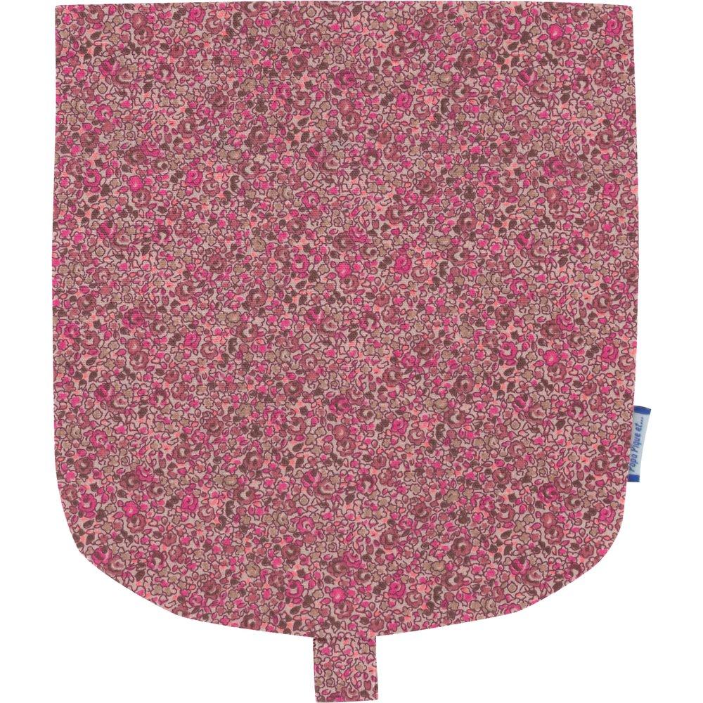 Rabat petite besace lichen prune rose