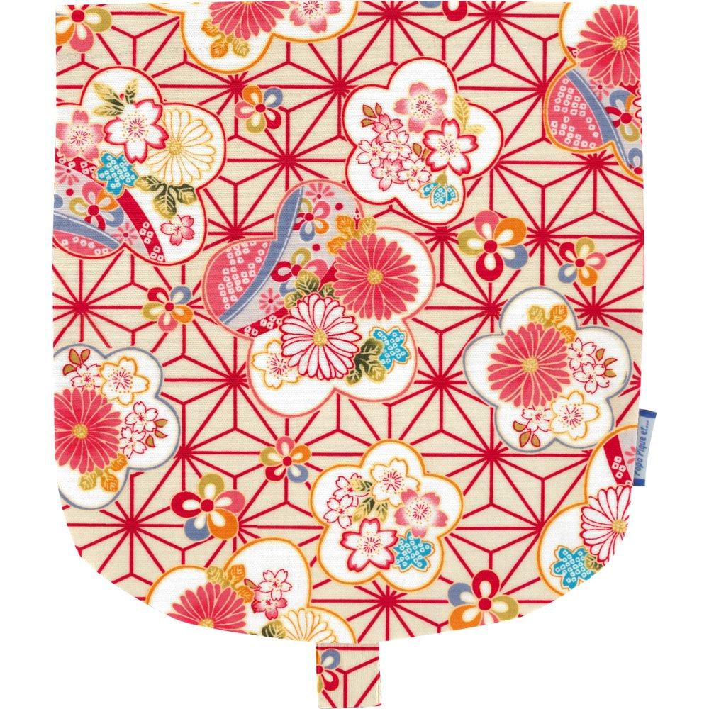 Rabat petite besace  origamis fleuris