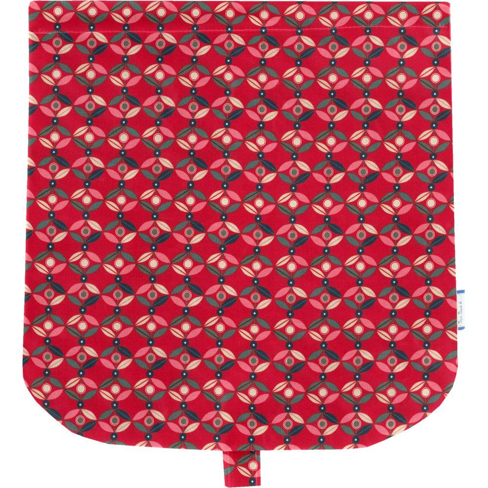 Flap of saddle bag paprika petal