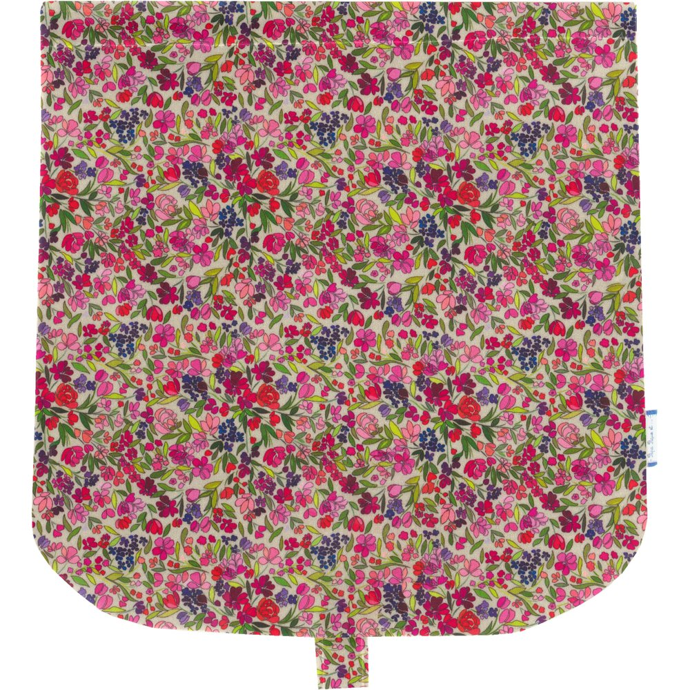 Flap of saddle bag purple meadow