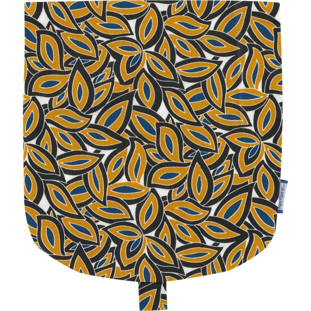 Flap of small shoulder bag 1000 leaves