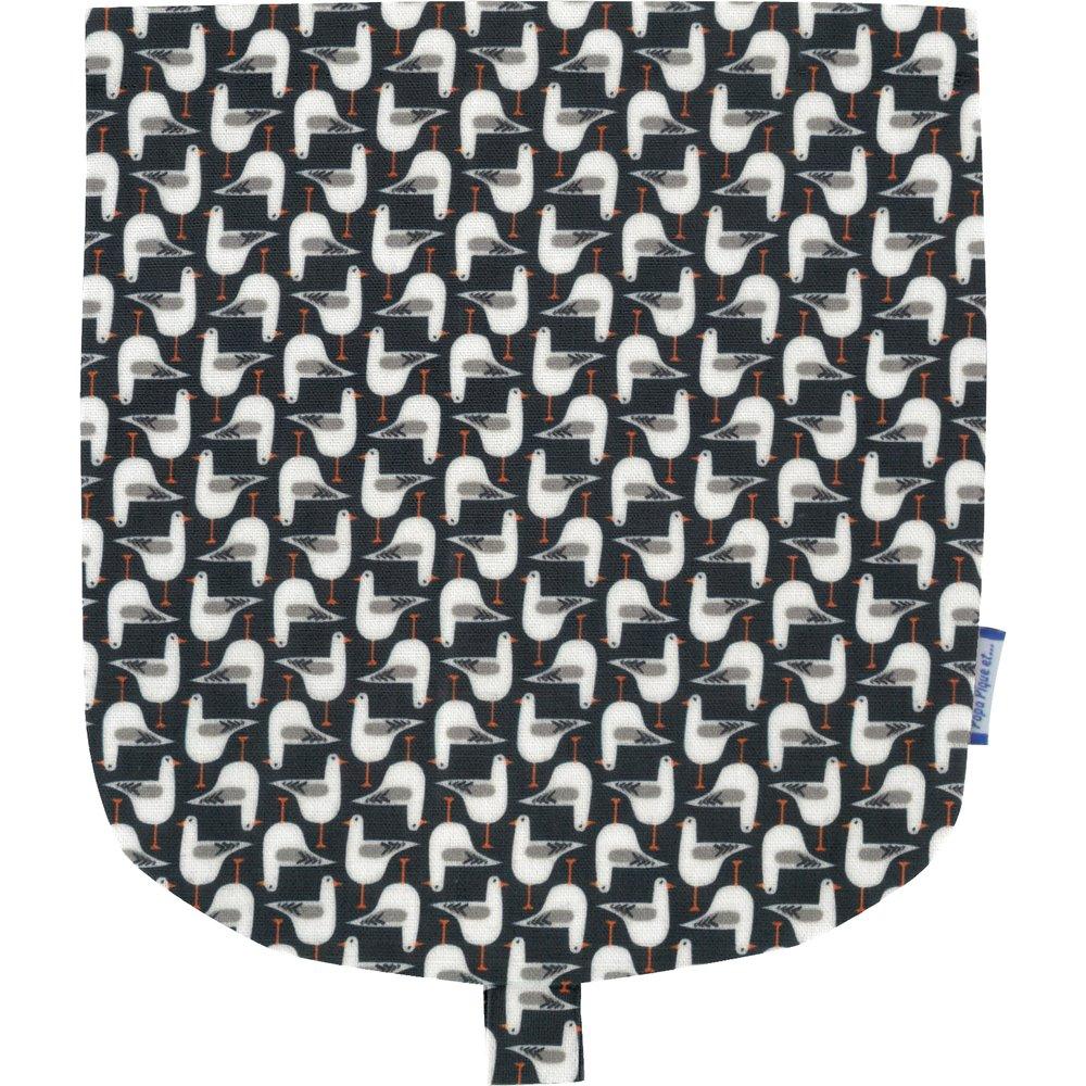 Tapa de mini bolso cruzado gaviotas de cabeza negra