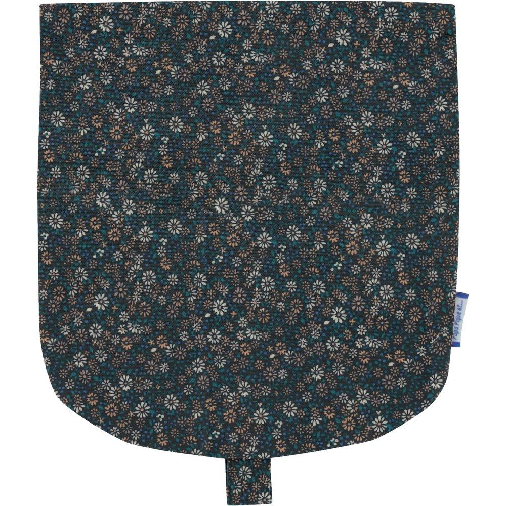 Flap of small shoulder bag paquerette marine