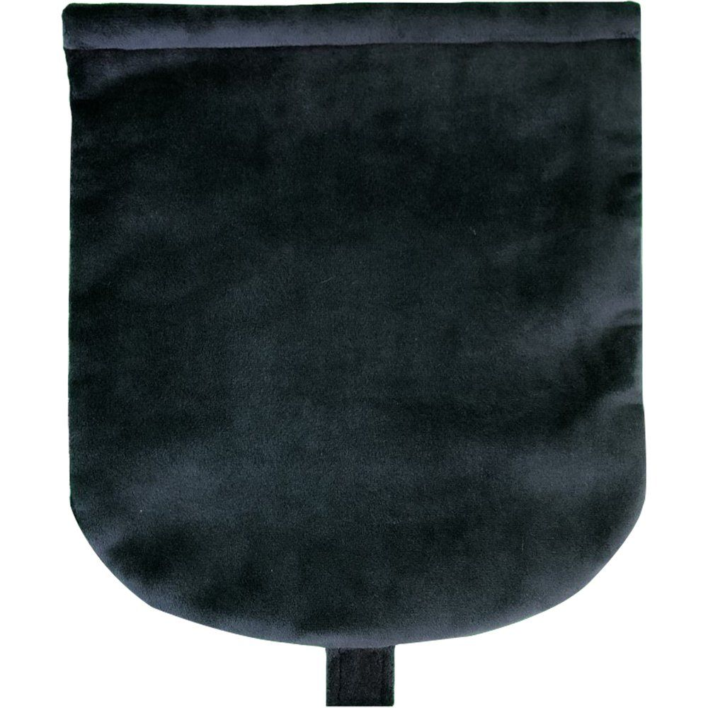 Flap of small shoulder bag