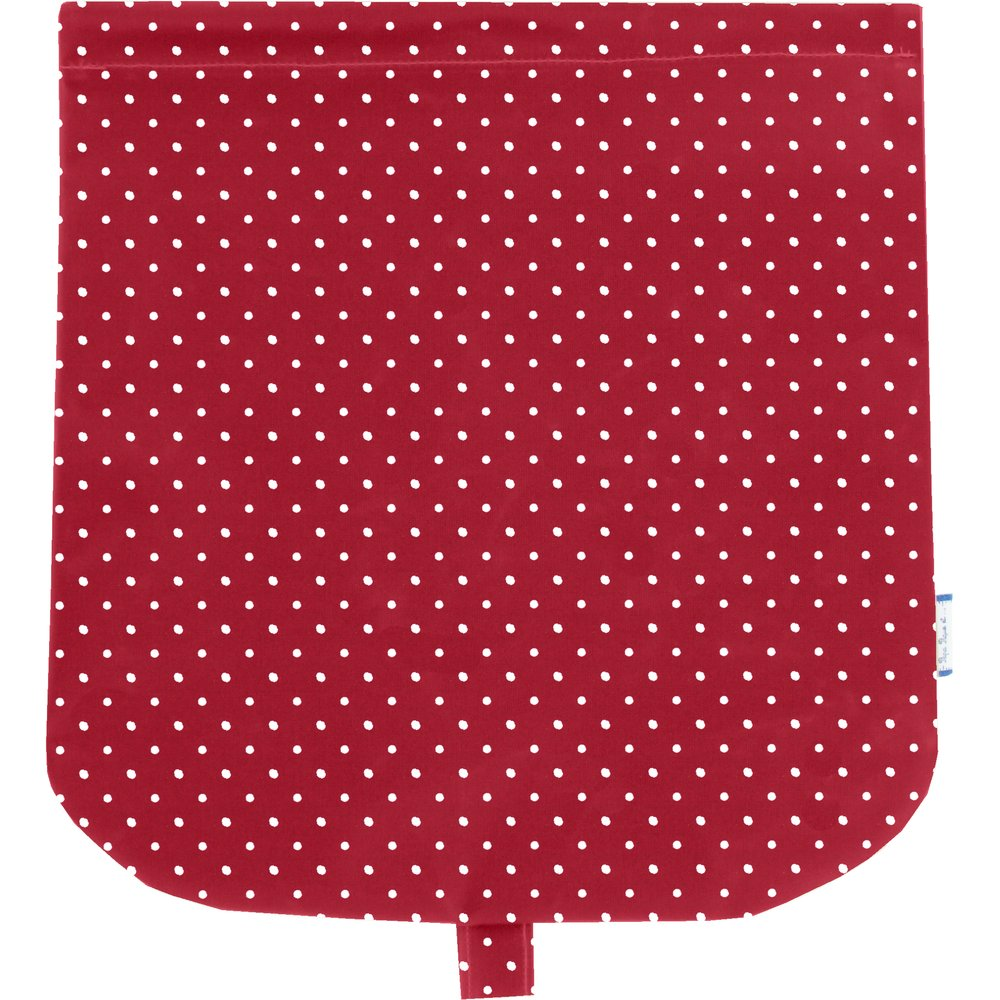 Flap of saddle bag red spots