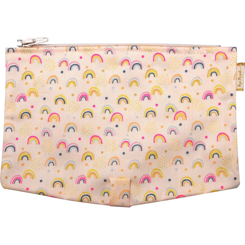Flap of shoulder bag rainbow