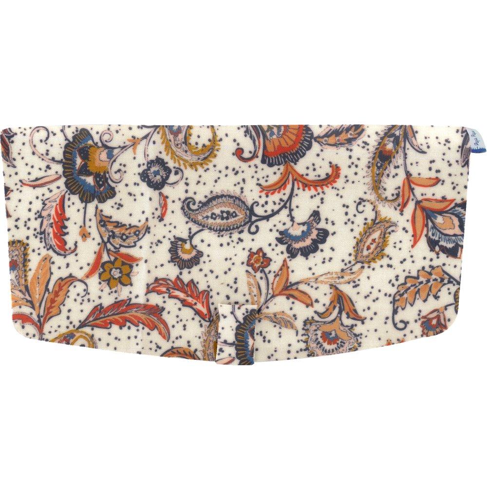 Flap of shoulder bag kashmir