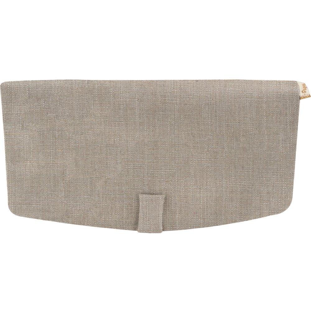 Rabat sac compagnon lin argenté