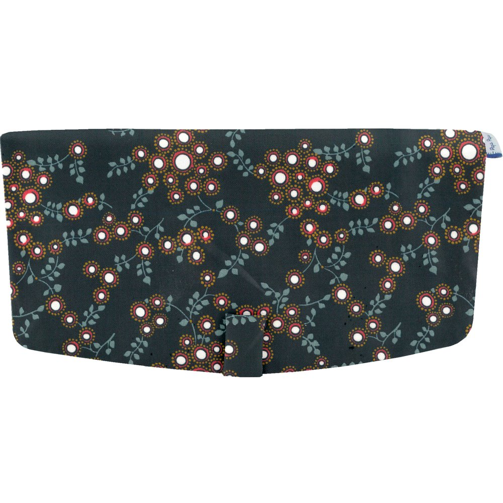 Flap of shoulder bag fireflies