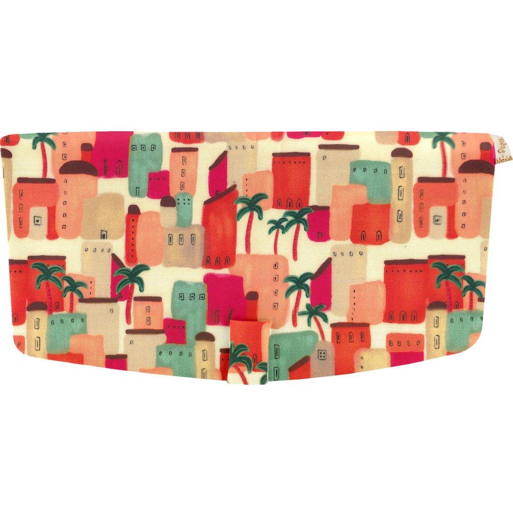 Flap of shoulder bag medina