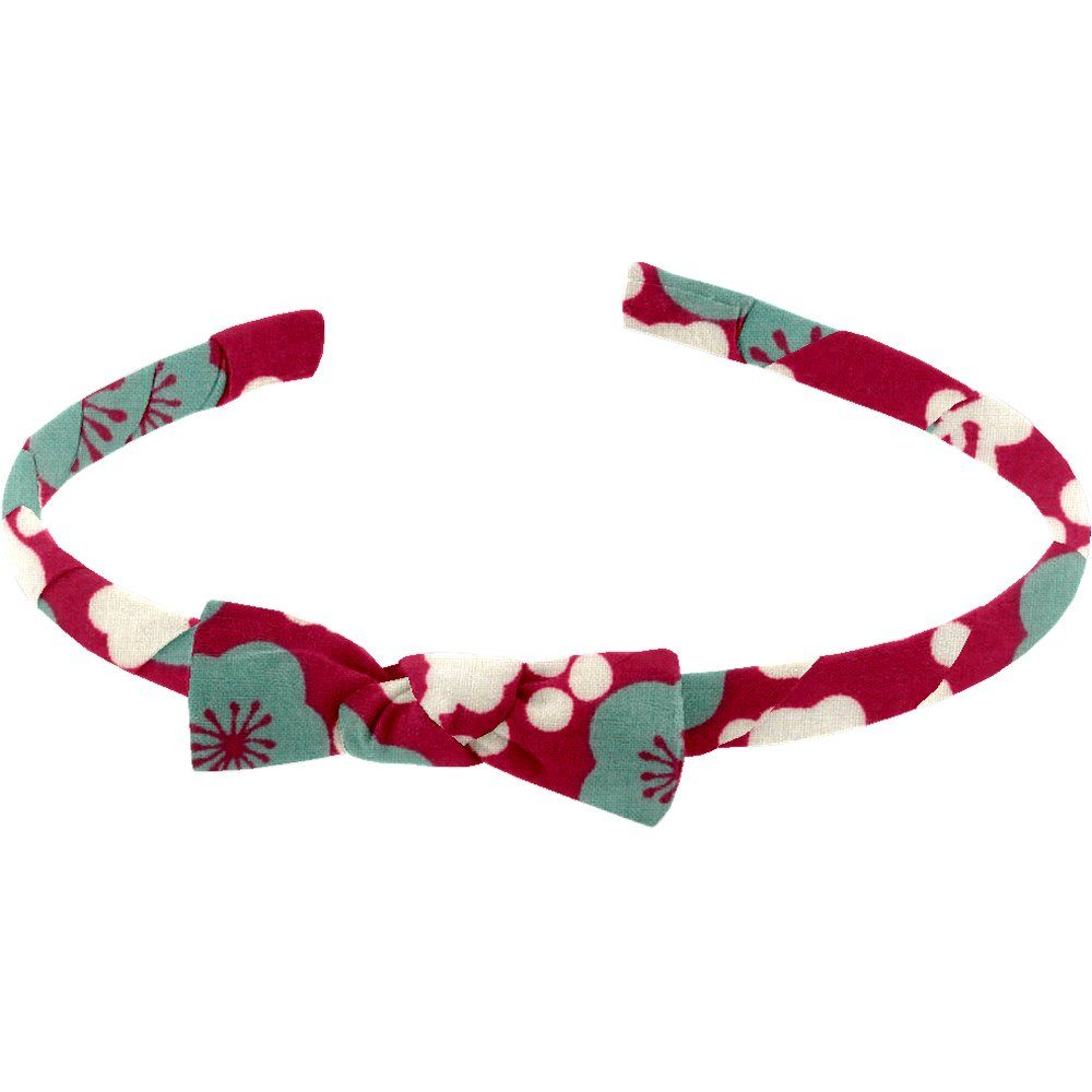 Thin headband ruby cherry tree