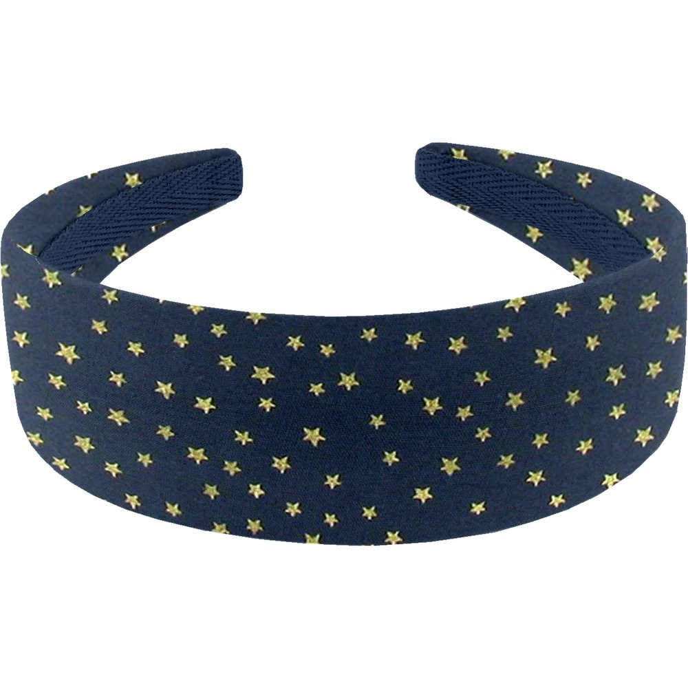 Wide headband etoile or marine