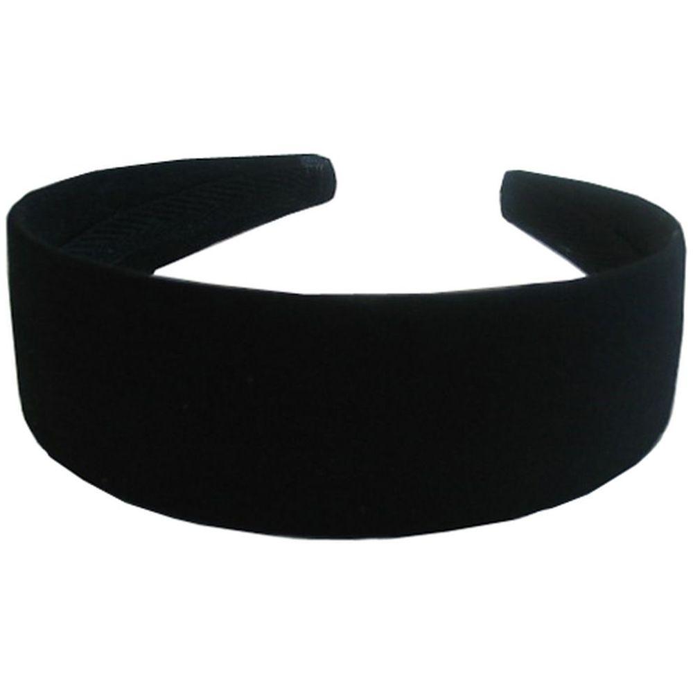 Serre-tête large noir