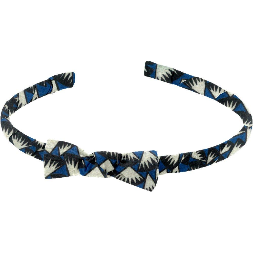 Thin headband parts blue night