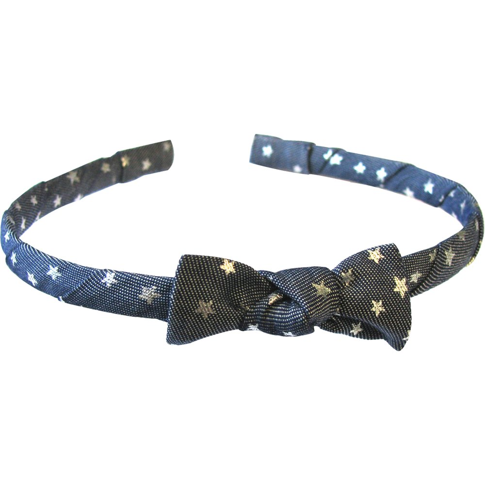 Thin headband silver star jeans