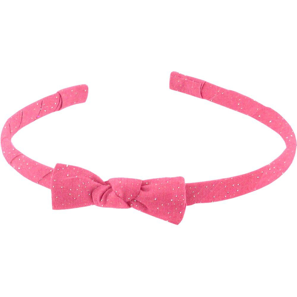 Thin headband rose pailleté