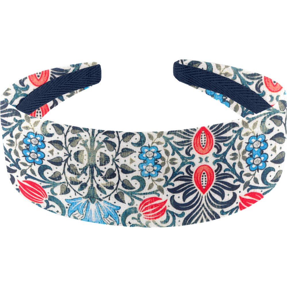 Wide headband azulejos
