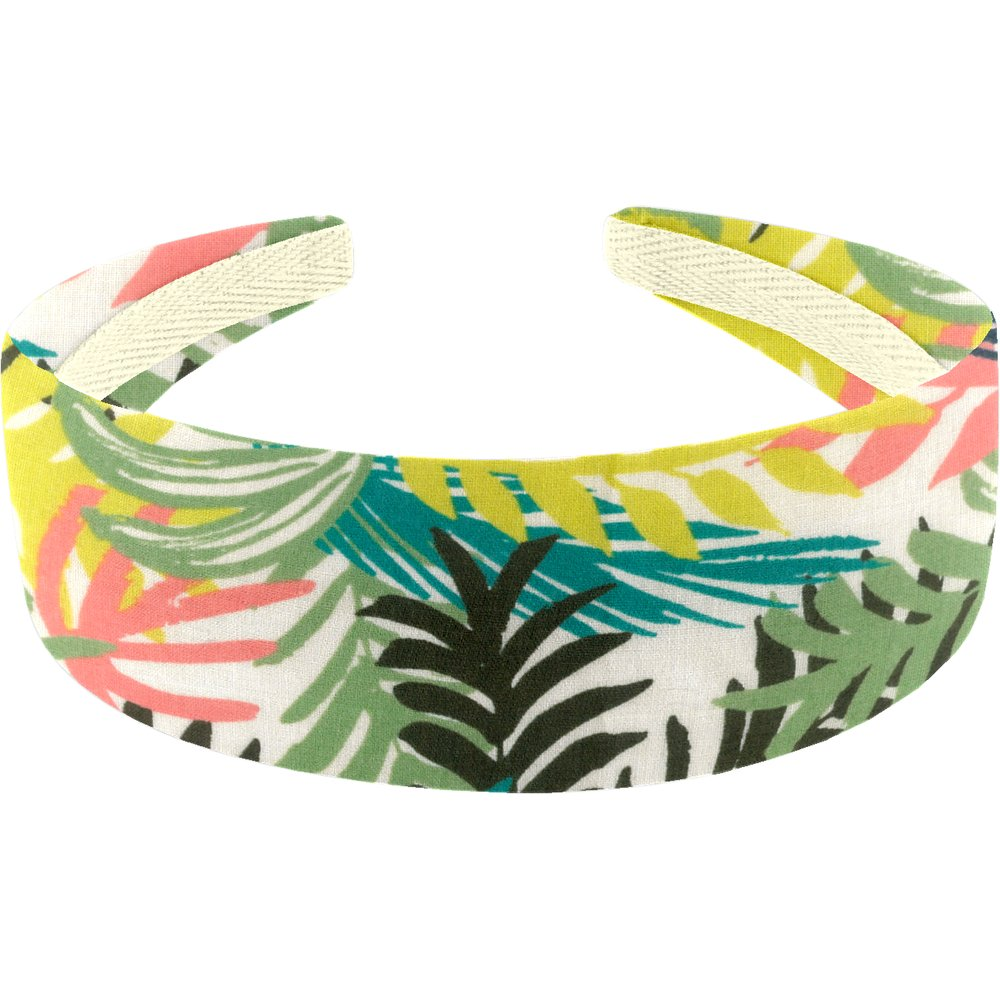 Wide headband bracken