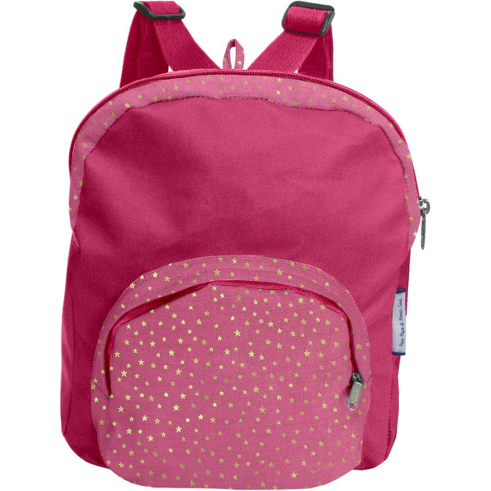 Children rucksack etoile or fuchsia