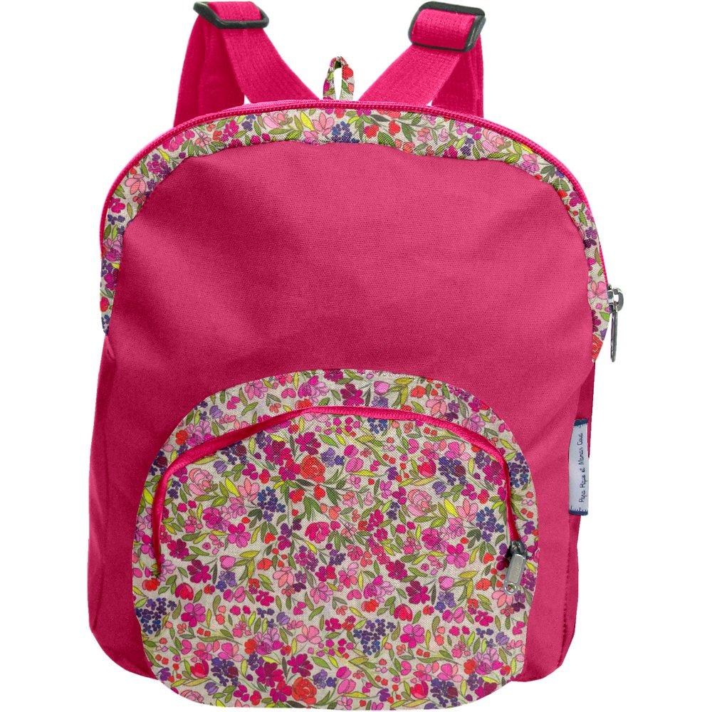 Children rucksack purple meadow
