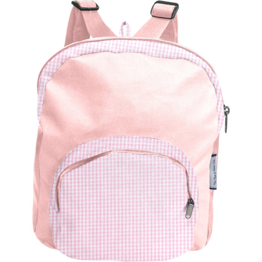 Children rucksack pink gingham