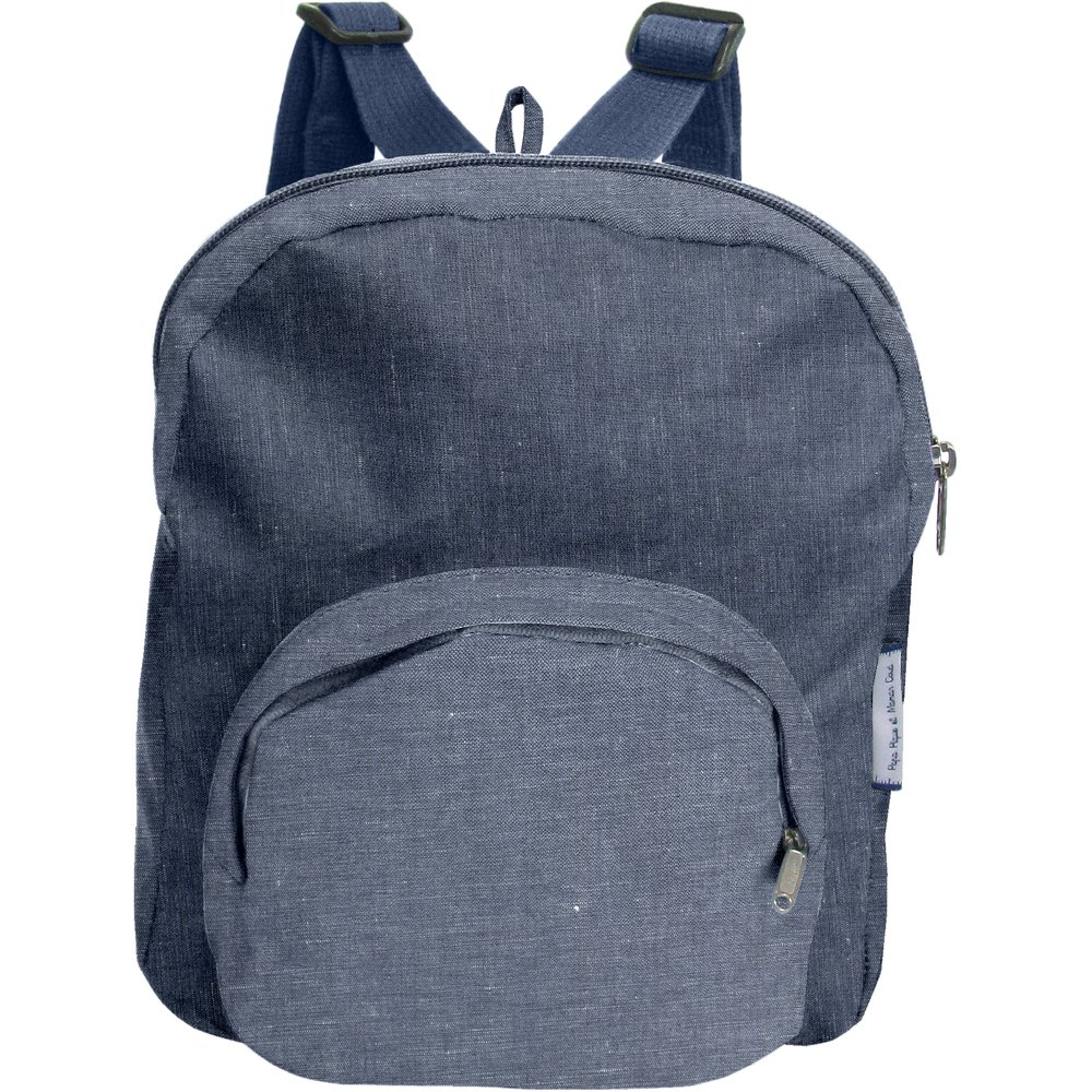 Children rucksack light denim