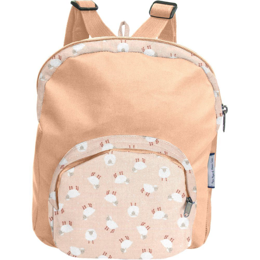 Children rucksack pink sheep