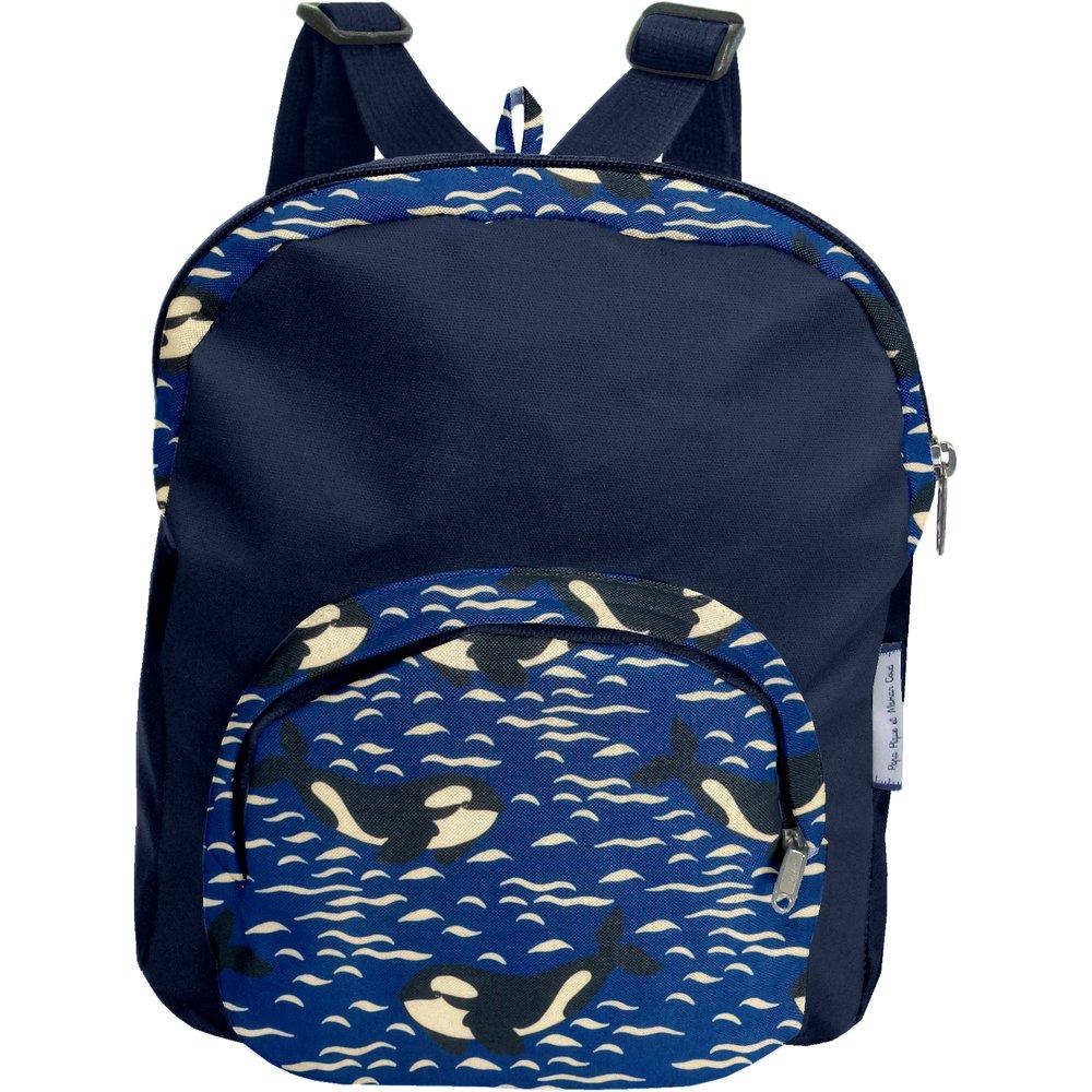 Children rucksack orque bleue