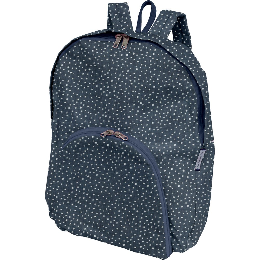 Foldable rucksack  etoile argent jean