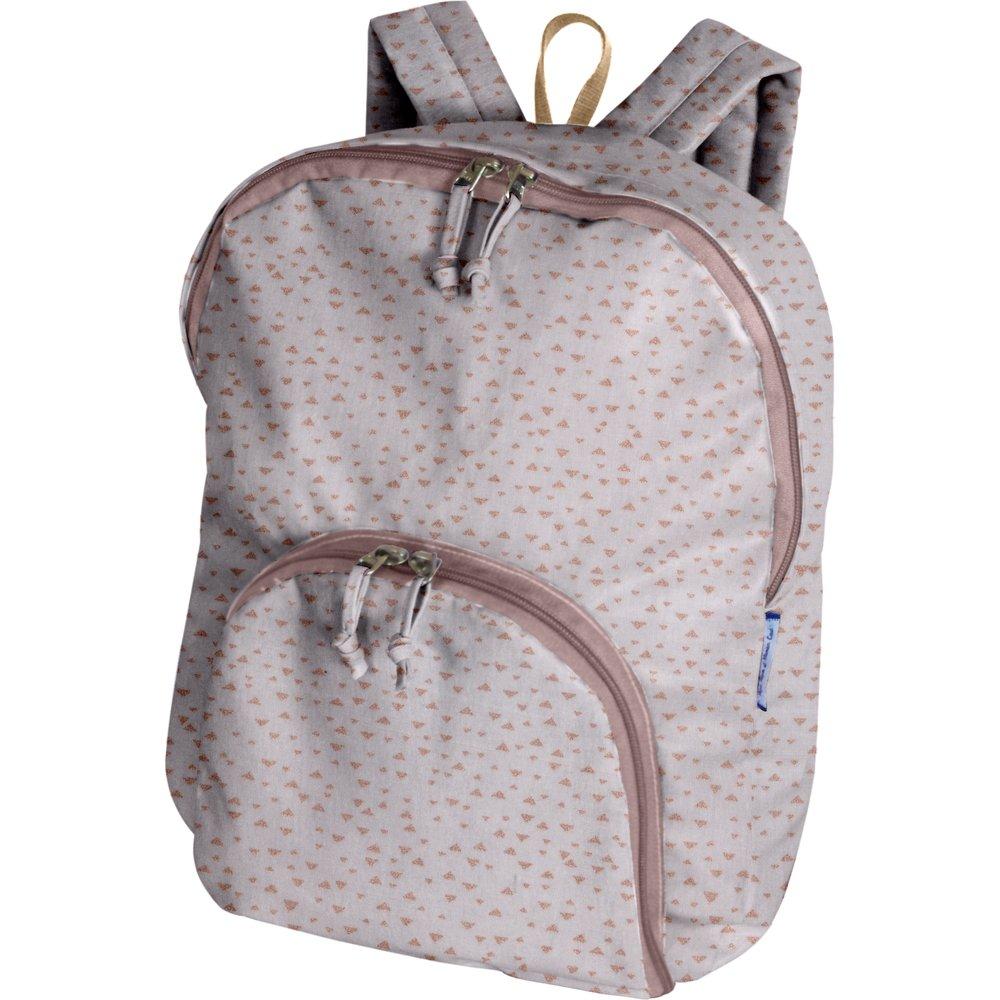 Foldable rucksack  triangle cuivré gris