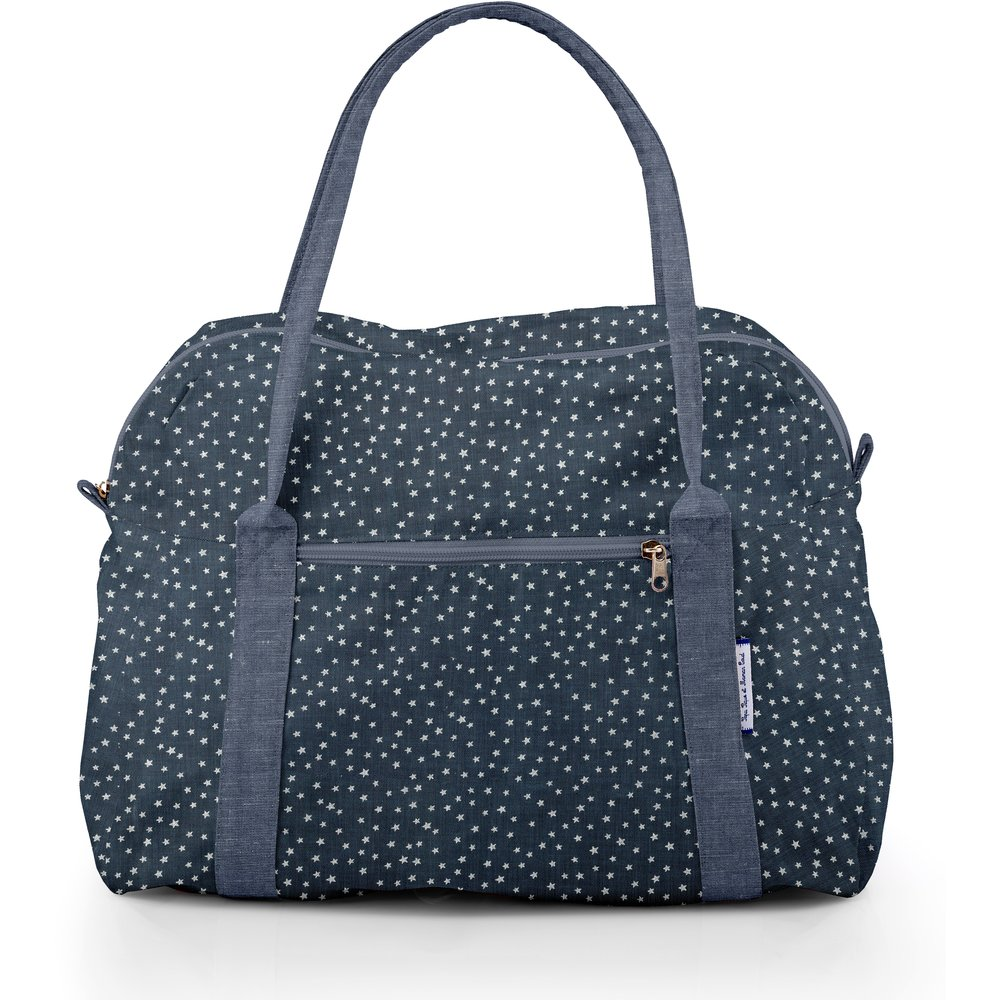Sac bowling etoile argent jean
