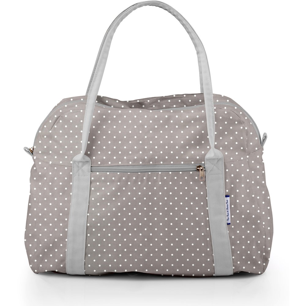 Bowling bag  light grey spots