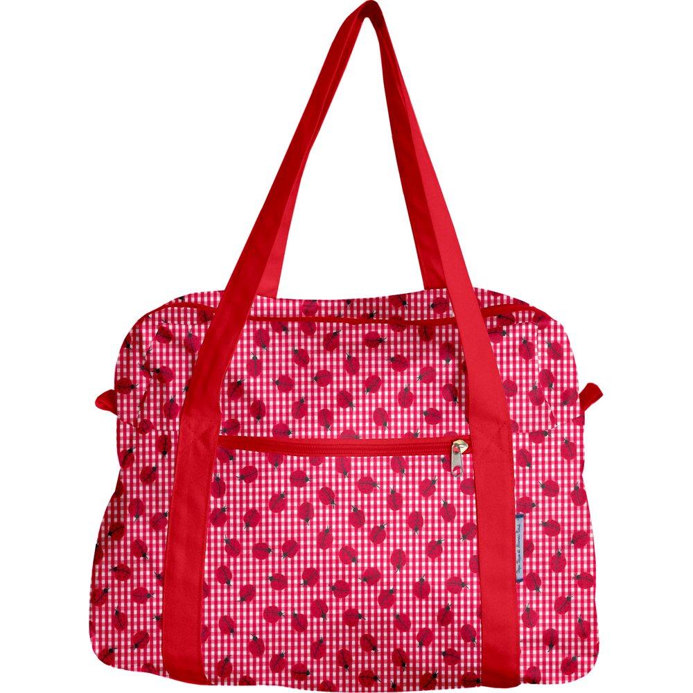 Bowling bag  ladybird gingham