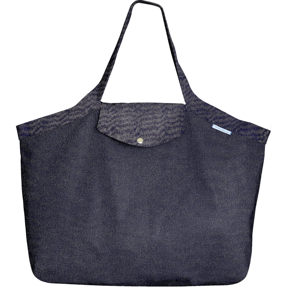 Tote bag with a zip marine or
