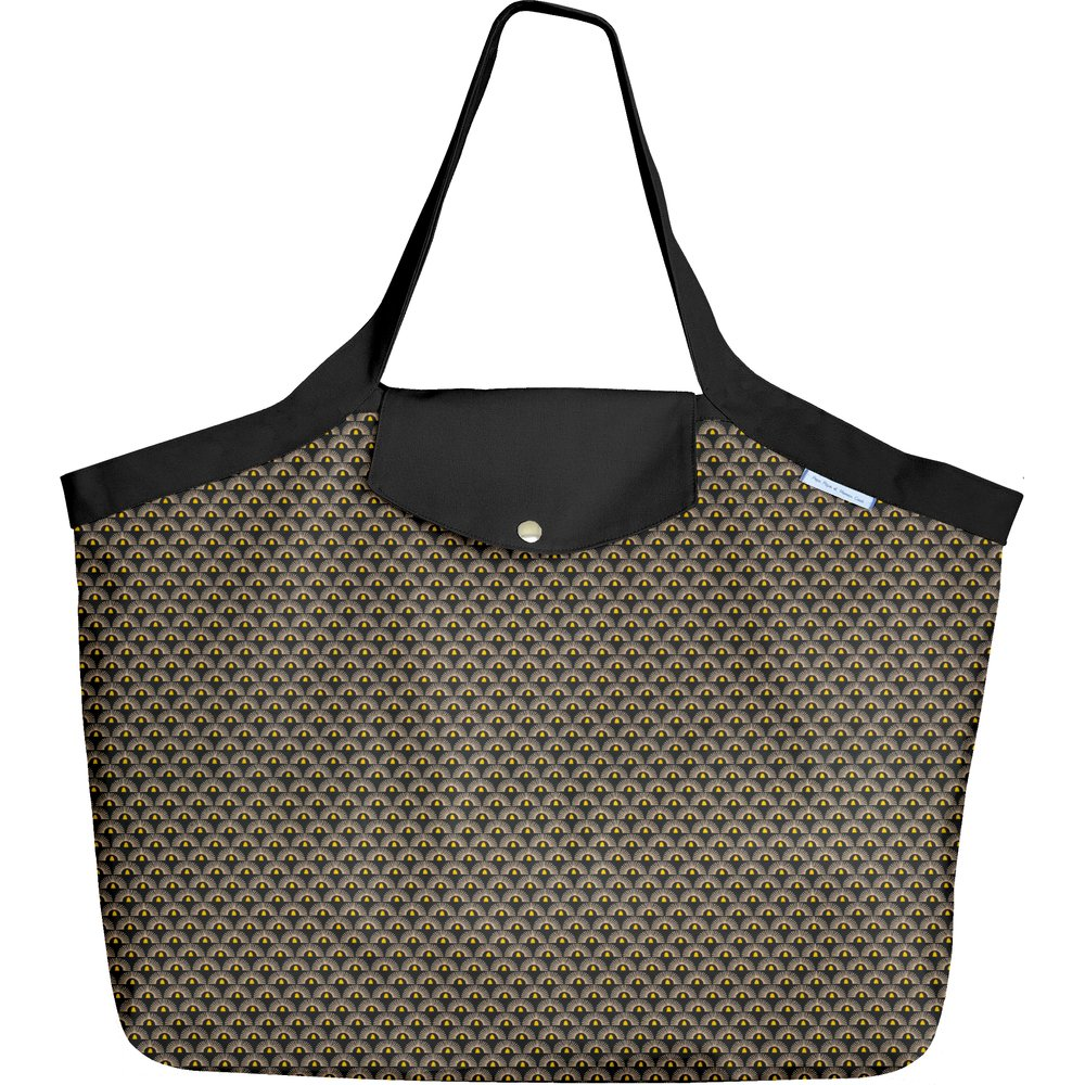 Tote bag with a zip inca sun