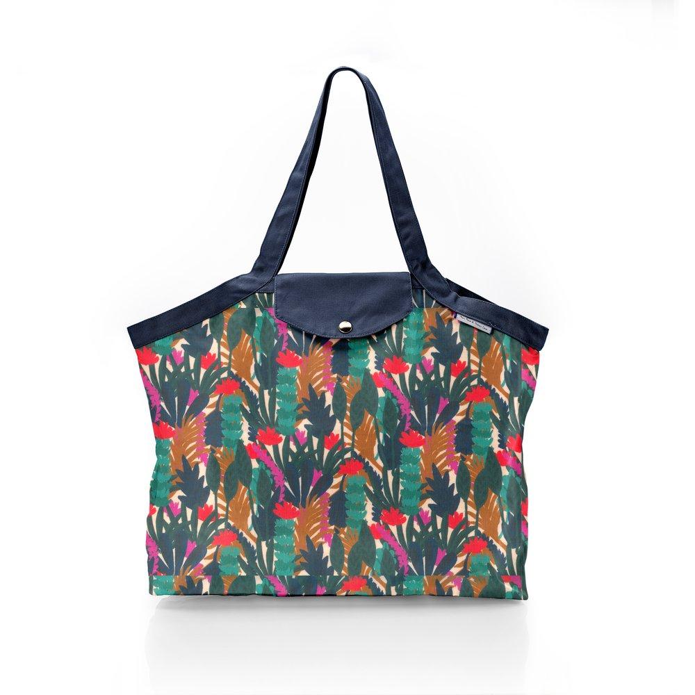 Pleated tote bag - Medium size canopée