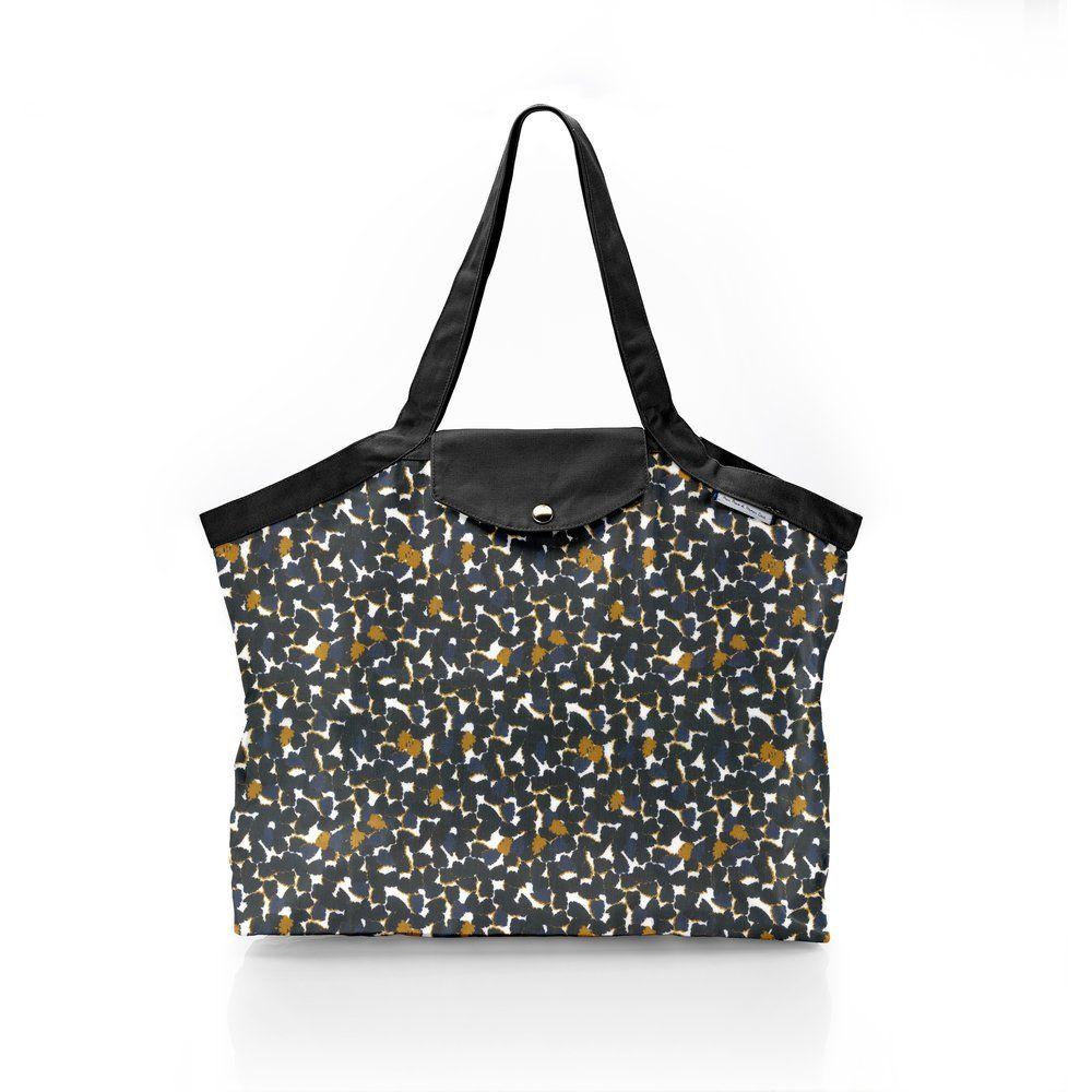 Pleated tote bag - Medium size  melting plum'