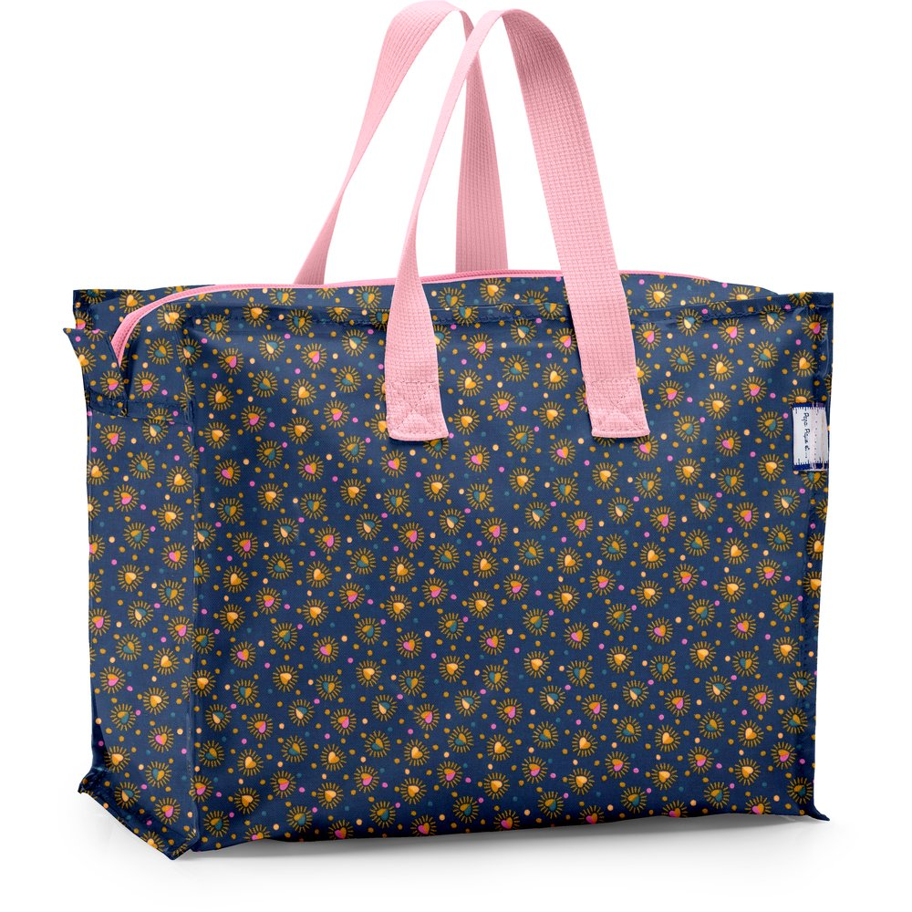 Storage bag glittering heart