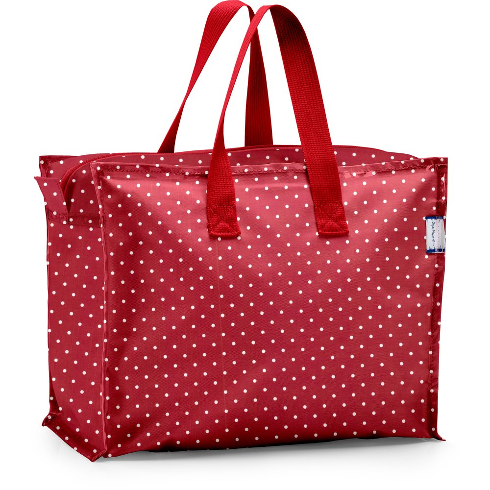 Storage bag red spots