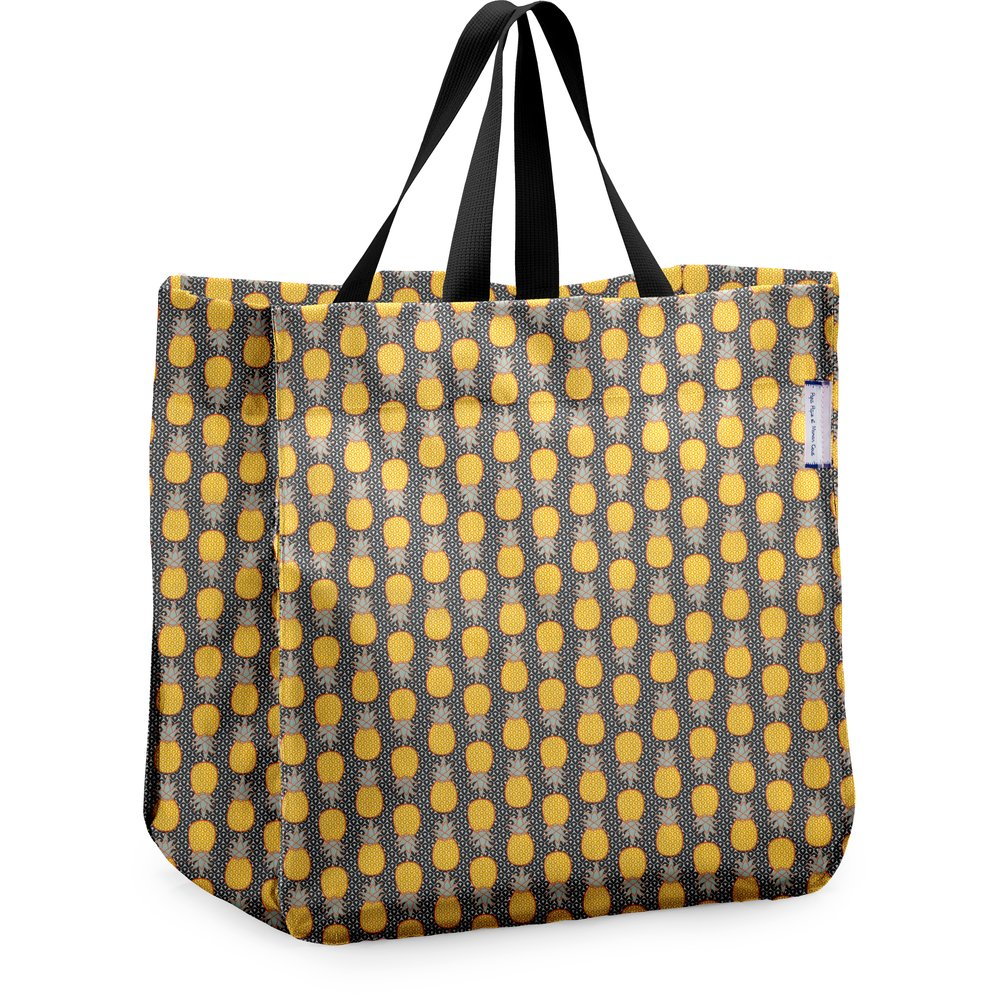 Sac cabas shopping ananas